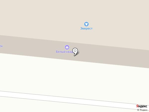 Эверест на карте Братска