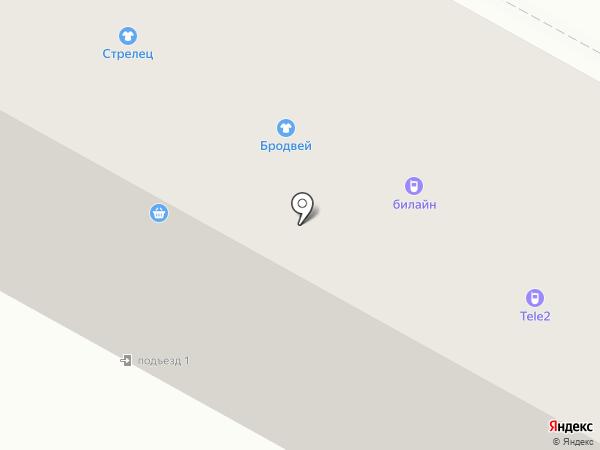 Связной на карте Братска