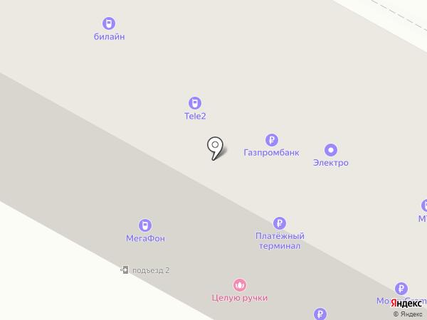 Билайн на карте Братска