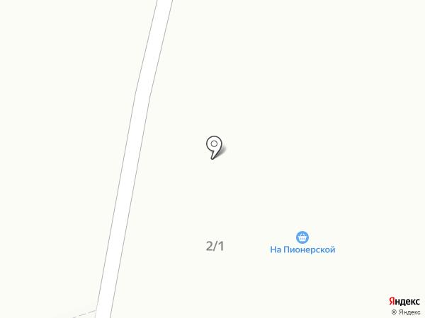 На пионерской на карте Братска