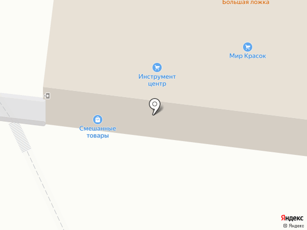 Большая ложка на карте Братска