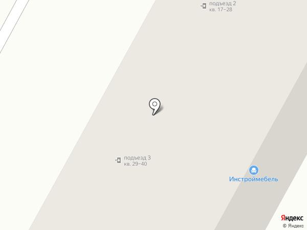 Вектор на карте Братска