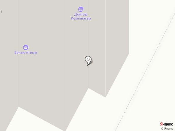 Кормилец на карте Братска
