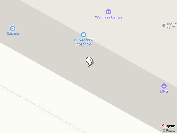 DNS на карте Братска
