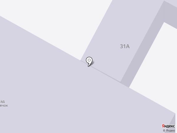 Детский сад №70, Светлячок на карте Братска