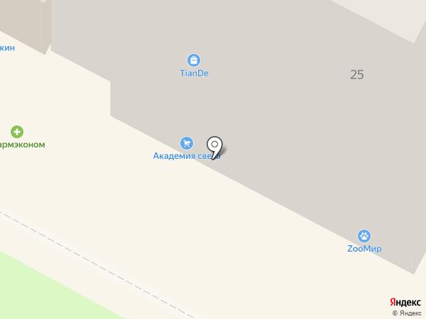 Очарование на карте Братска