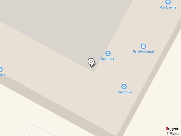Магазин польской женской одежды на карте Братска
