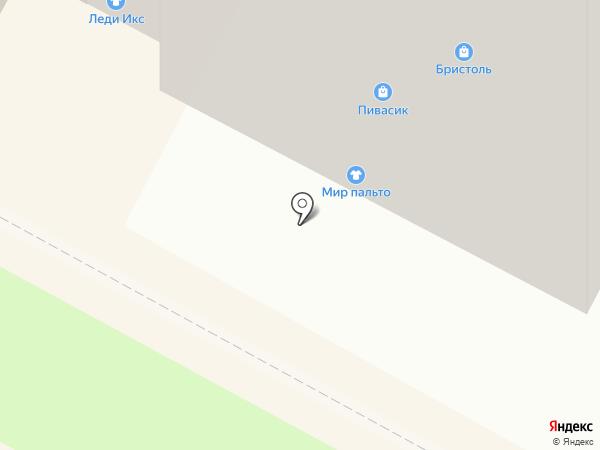 Пивасик на карте Братска