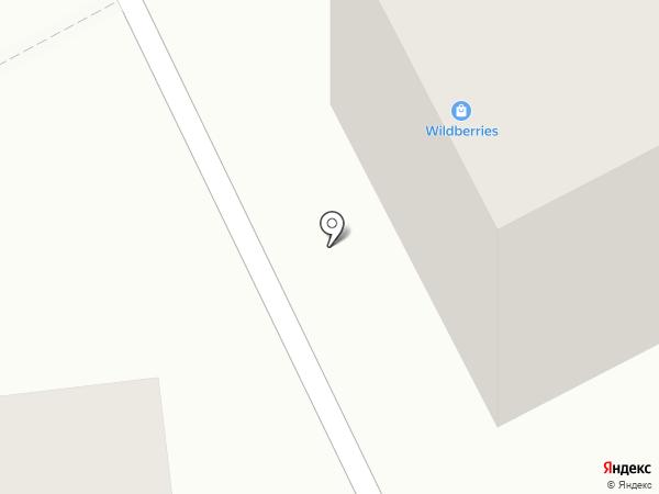 Ланца на карте Братска
