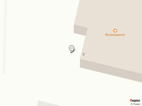 Сауна на Возрождения на карте Братска