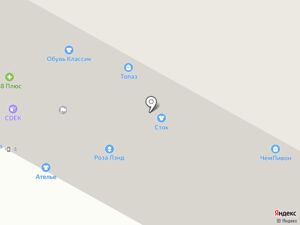 Социальный на карте Братска