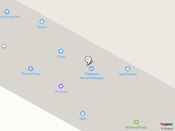 Малевич на карте Братска