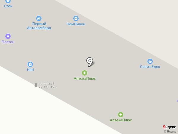 Центр Капитал Регион, КПК на карте Братска
