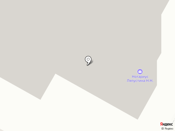 Нотариус Ляпустина Н.Н. на карте Братска