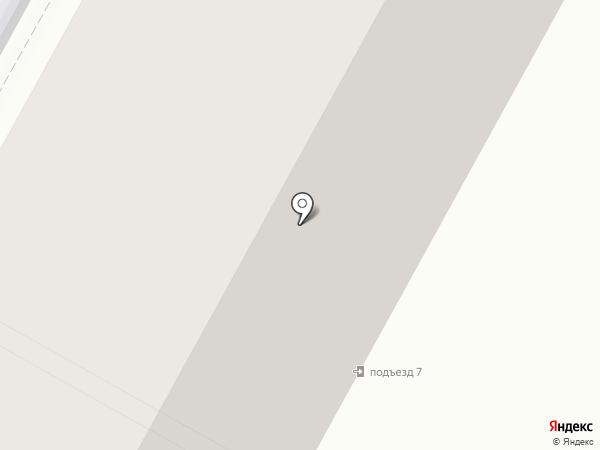 Новый Век на карте Братска
