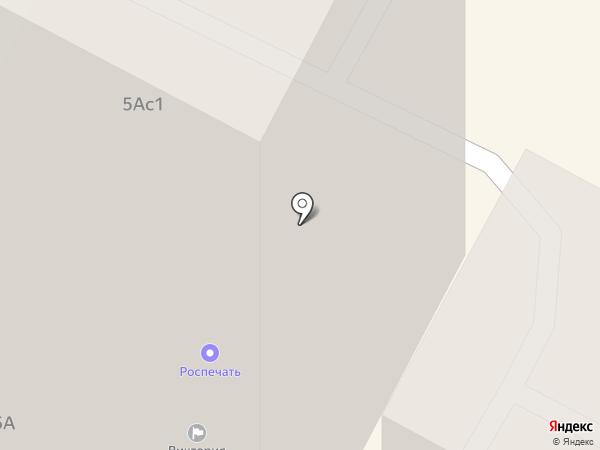 Виктория, ТСЖ на карте Братска