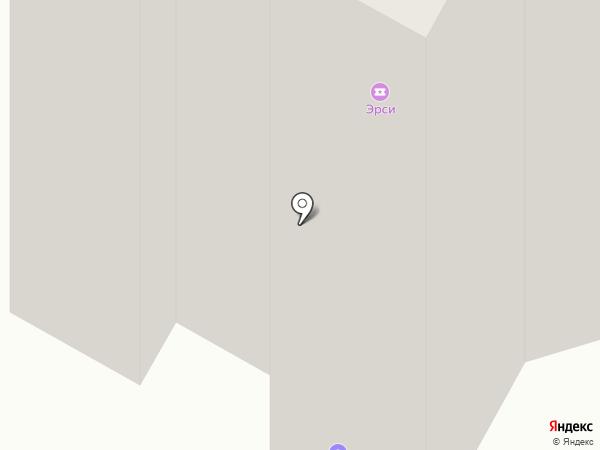 Сёма на карте Братска