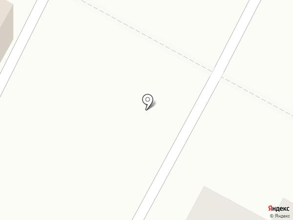 Киоск по продаже мороженого на карте Братска