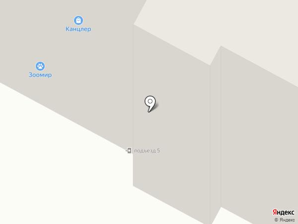 Кристалл на карте Братска
