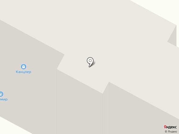 Канцлер на карте Братска