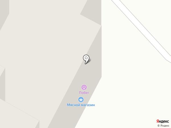 Побег на карте Братска