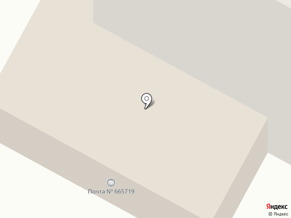 Керона на карте Братска