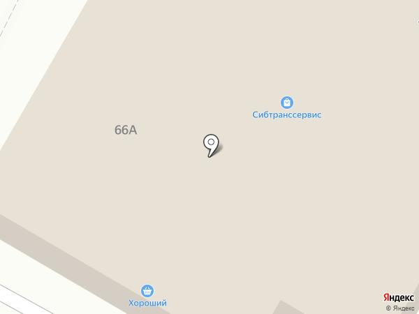 Банкомат, Братский Акционерный Народный коммерческий Банк на карте Братска