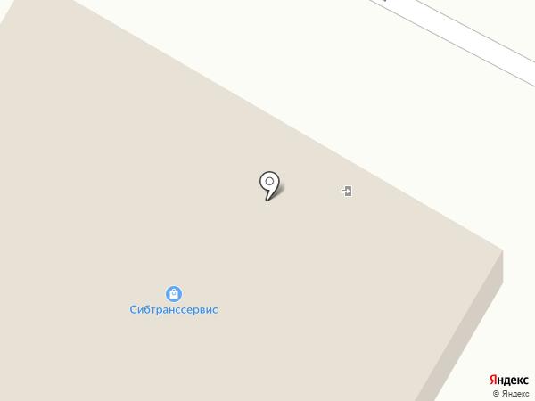 Сибтранссервис на карте Братска