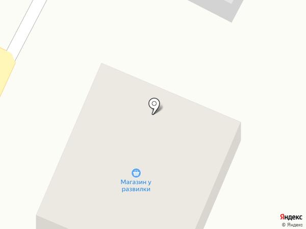 У развилки на карте Братска
