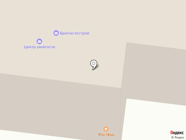 Магазин женской одежды и белья на карте Братска