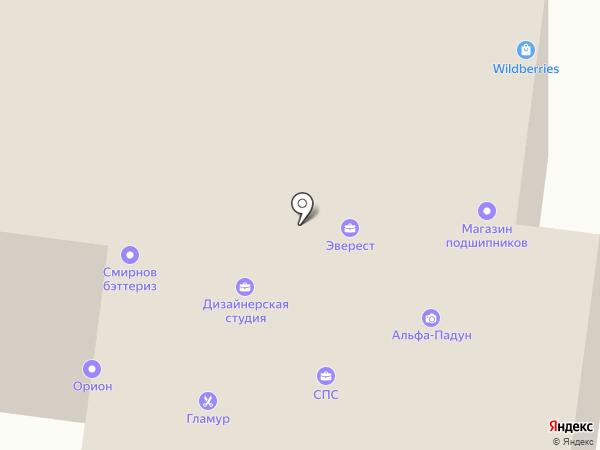 Магазин подшипников на карте Братска