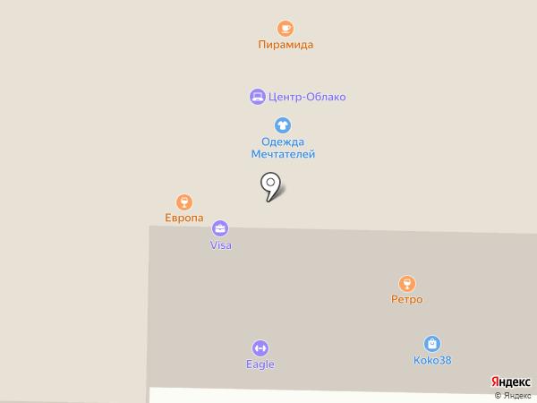 12 футов на карте Братска