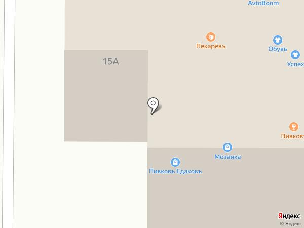 Городок на карте Братска