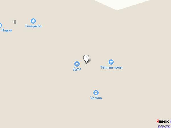 Маршрут на карте Братска