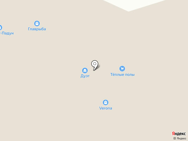 Магазин сантехники и хозтоваров на карте Братска
