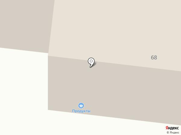 Людмила на карте Братска