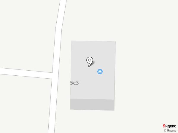 Автостоянка на карте Братска