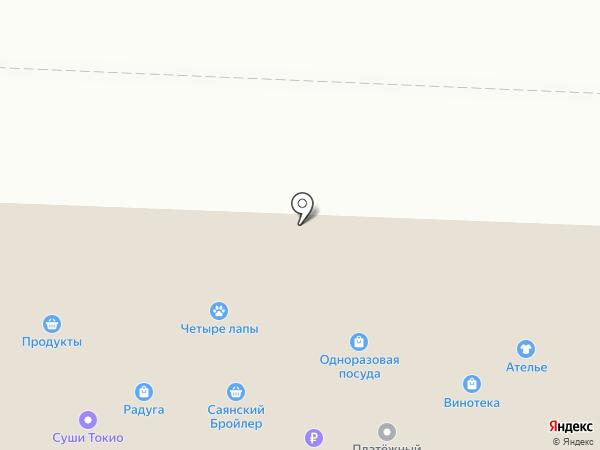 Сибирский Хлеб на карте Братска