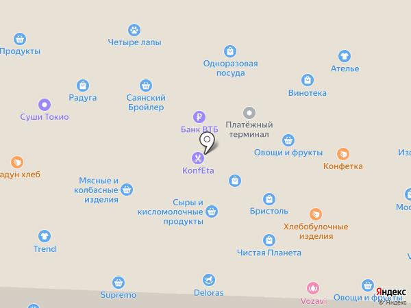 Sweets на карте Братска