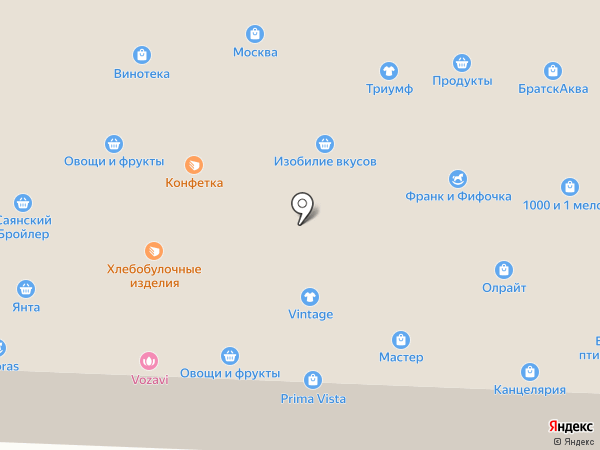 Сибирское здоровье на карте Братска
