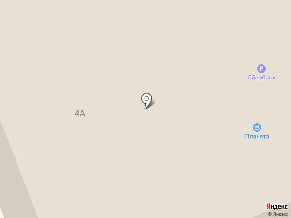 Инва-2 на карте Братска
