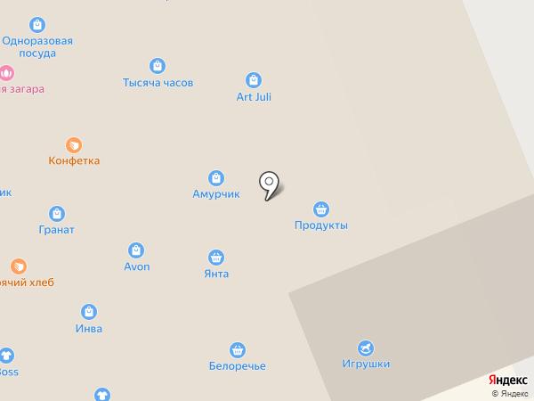 Лиза на карте Братска