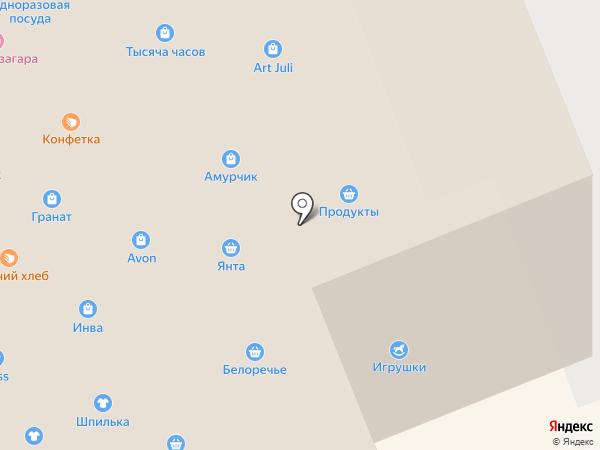 ДНС на карте Братска