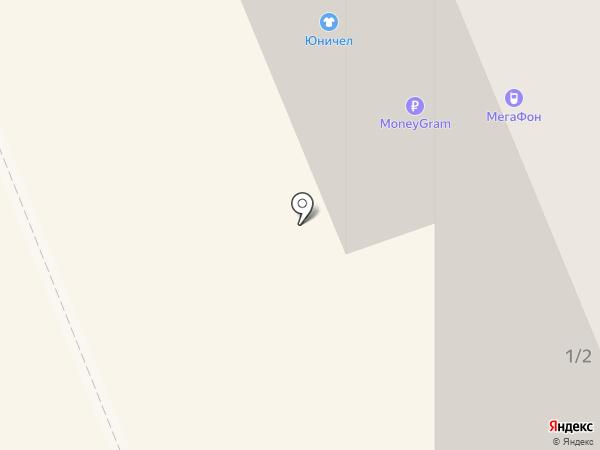 Сапожок на карте Братска