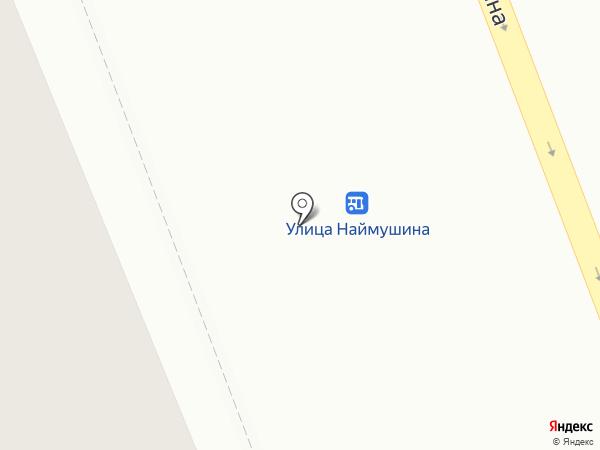 Глотка на карте Братска