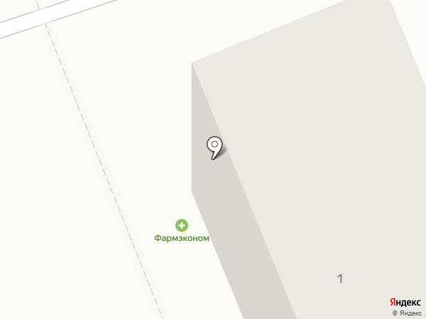 Магазин по продаже фруктов и овощей на карте Братска