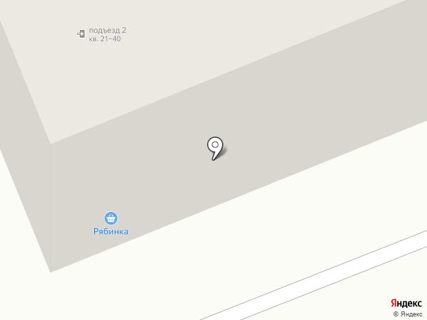 Рябинка на карте Братска