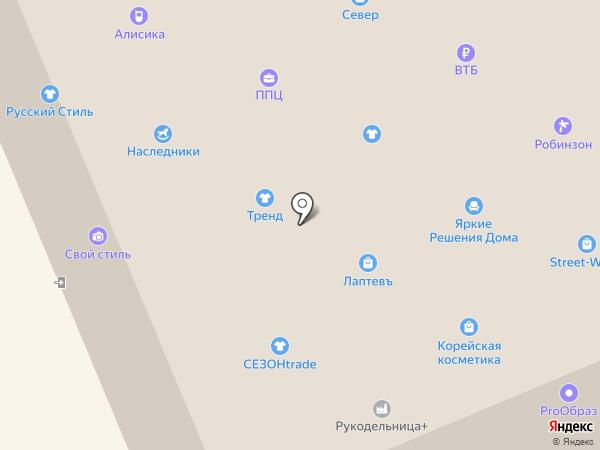 Гаруда на карте Братска
