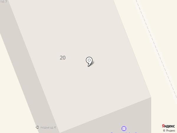 Олви на карте Братска