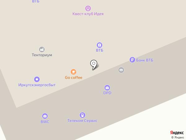 Веста на карте Братска